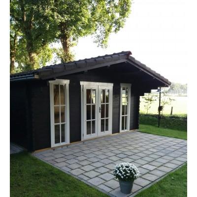 Hauptbild von Azalp Blockhäuser Stefan 500x500 cm, 45 mm