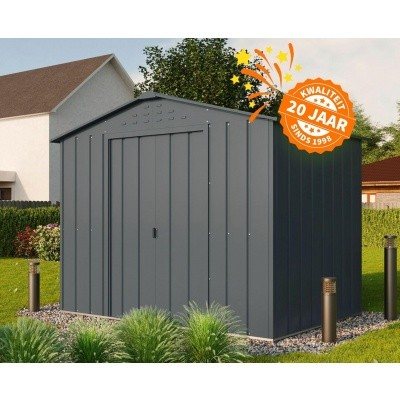 Foto van Duramax Top Shed 10x8, Antraciet
