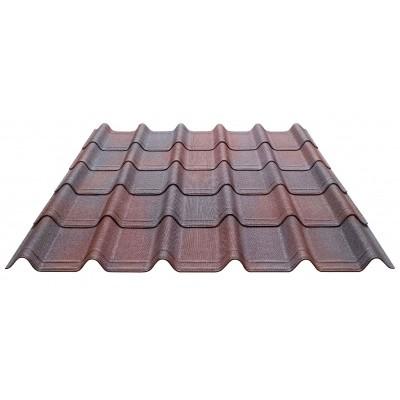 Hoofdafbeelding van Onduline Complete set Onduvilla voor dit dak (Rood)