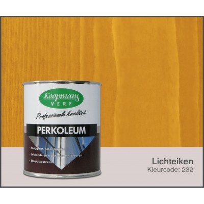 Foto van Koopmans Perkoleum, Lichteiken 232, 0,75L Hoogglans