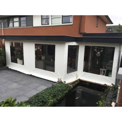 Foto van Azalp Verandazeil met raam 2.70-4.00 meter