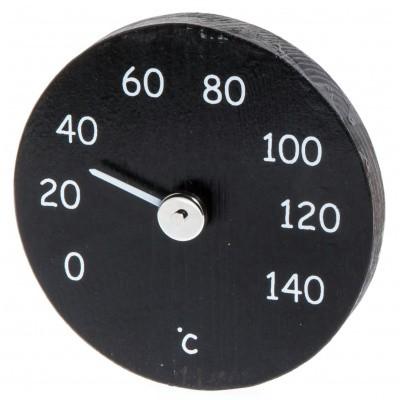 Hoofdafbeelding van Ilogreen Thermometer Hout Rond Zwart