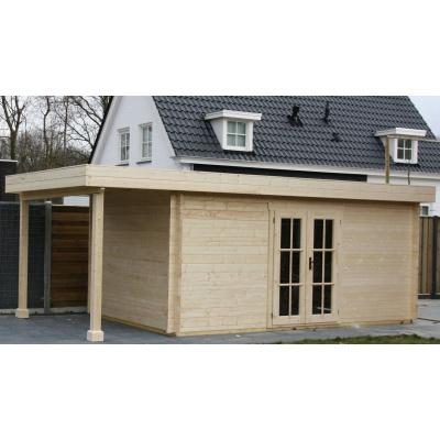 Hauptbild von Azalp Blockhaus Sven 400x350 cm, 45 mm