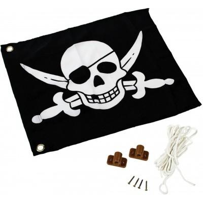 Hoofdafbeelding van Akubi Piraat vlag (82594)
