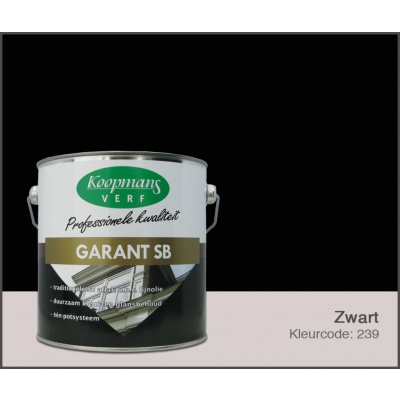 Hauptbild von Koopmans Garant SB, Schwarz 239, 2,5L