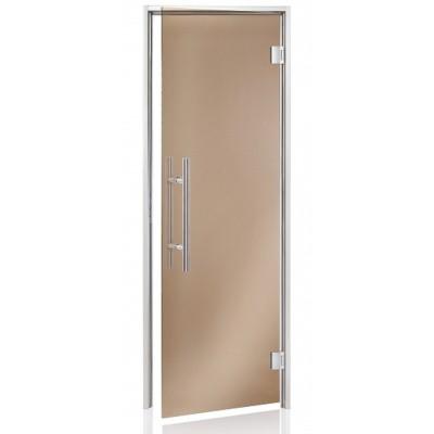 Hoofdafbeelding van Hot Orange Stoombad deur Au Premium 90x210 cm, brons