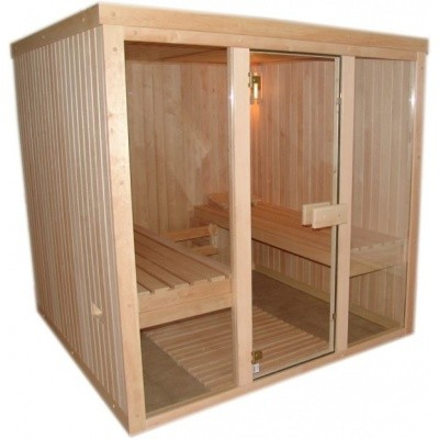 Hauptbild von Azalp Optic Elementsauna 220x186 cm, Erle