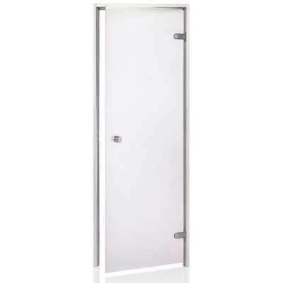 Hoofdafbeelding van Hot Orange Stoombad deur Au 90x210 cm, mat blank