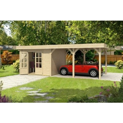 Hoofdafbeelding van Outdoor Life Products Living 7030 (7030F) Carport