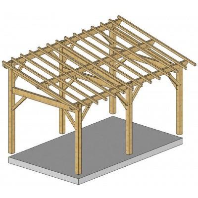 Hauptbild von Azalp Holzgerüst Überdachung Parentis (F32603)