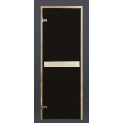 Foto van Ilogreen Saunadeur Classic (Elzen) 69x199 cm, bronsglas