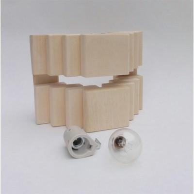 Foto van Liberty Wellness Stapel 2 Saunalamp inclusief fitting en bollamp