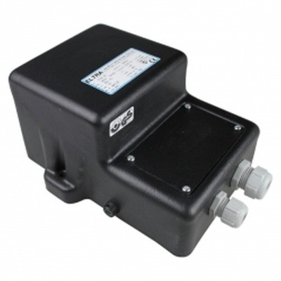 Foto van Azalp zware kwaliteit veiligheidstransformator 2x 300 watt - IP65