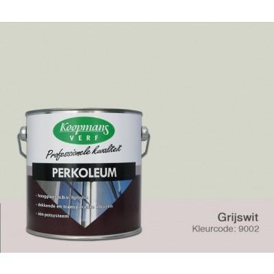 Hoofdafbeelding van Koopmans Perkoleum, Grijswit Ral 9002, 2,5L zijdeglans