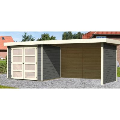 Hauptbild von Woodfeeling Leuven 3 mit Veranda 280 cm Terragrau