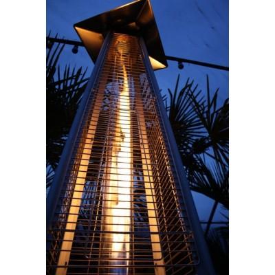 Foto van Azalp Flame Heater RVS