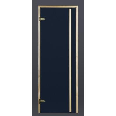 Foto van Ilogreen Saunadeur Exclusive (Elzen) 89x189 cm, blauwglas