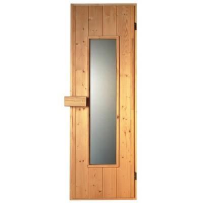 Hoofdafbeelding van Sawo Saunadeur hout 185x63 cm