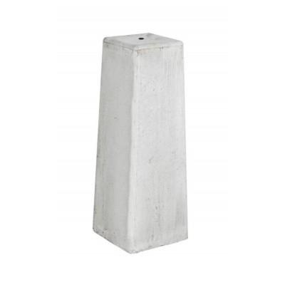 Hoofdafbeelding van Hillhout Verstelbare Betonpoer wit-grijs O