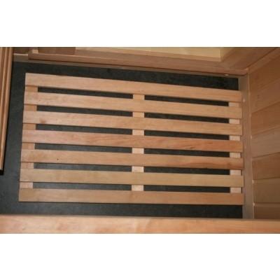 Hoofdafbeelding van Azalp Sauna Vloerrooster Elzen, 60x40 cm