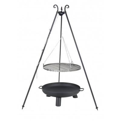 Hoofdafbeelding van Farmcook Swing Grill Viking ø 50 cm + Vuurschaal Pan37 60 cm