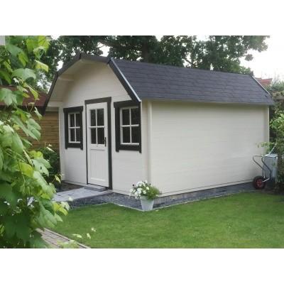Foto von Azalp Blockhaus Yorkshire 350x250 cm, 30 mm