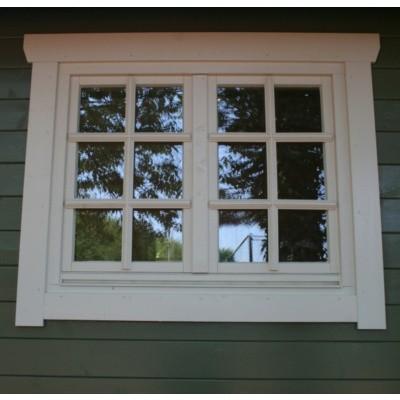 Hoofdafbeelding van Azalp Extra raam voor Royal Class blokhut, 120x94 cm