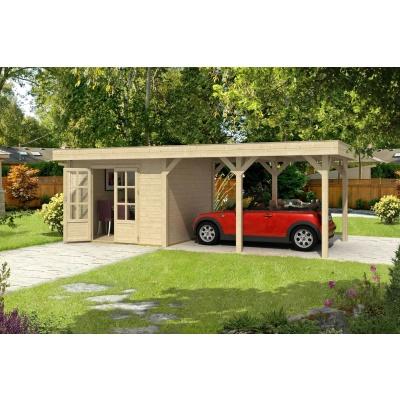Hoofdafbeelding van Outdoor Life Products Living 7030 (extra) Blokhut, Geïmpregneerd