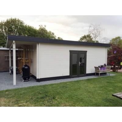 Hauptbild von Azalp Blockhaus Sven 596x500 cm, 45 mm