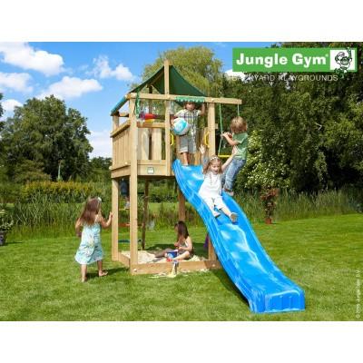 Foto van Jungle Gym Lodge met Glijbaan