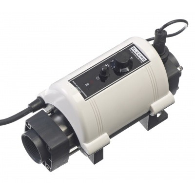 Foto van Elecro Engineering Nano Compact 6 kW mono Swimming Pool Heater (titanium)
