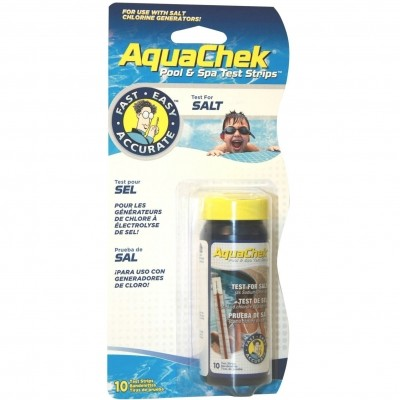 Foto van AquaChek White Test Strips (Salt Titrators)