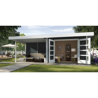 Hauptbild von Weka Designhuis 126 B Gr.2, 590x300 cm anthrazit