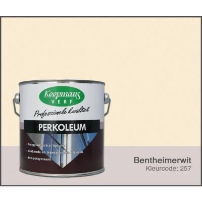 Foto van Koopmans Perkoleum, Bentheimerwit 257, 2,5L Hoogglans