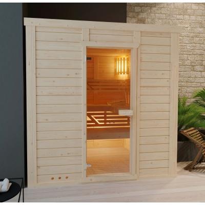 Hoofdafbeelding van Azalp Massieve sauna Genio 166x230 cm, 45 mm