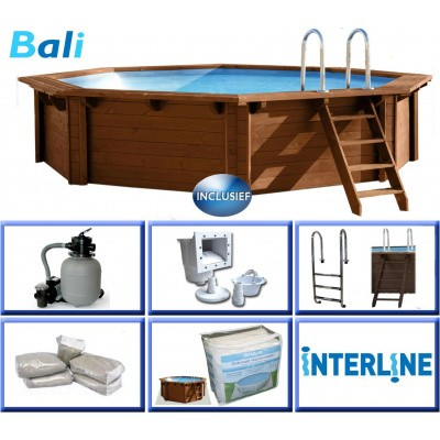 Foto van Interline Bali Ø 440 x 136 cm inclusief pakket