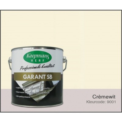 Hoofdafbeelding van Koopmans Garant SB, Crèmewit 9001, 2,5L