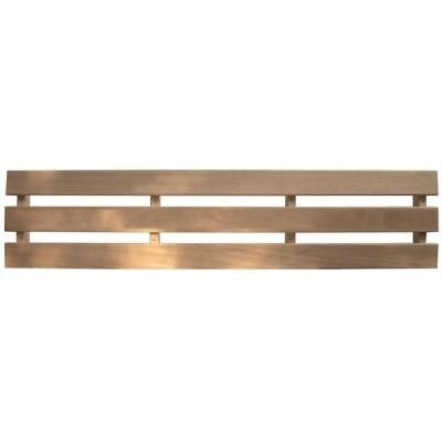 Hauptbild von Azalp Sauna Rckenlehne LUXE, Abachi Dreifachleiste