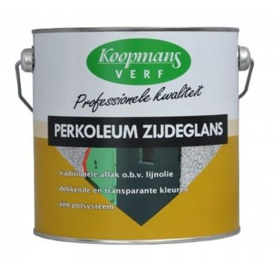 Foto van Koopmans Perkoleum kleurloze beits met UV beschermer zijdeglans, 0,75L