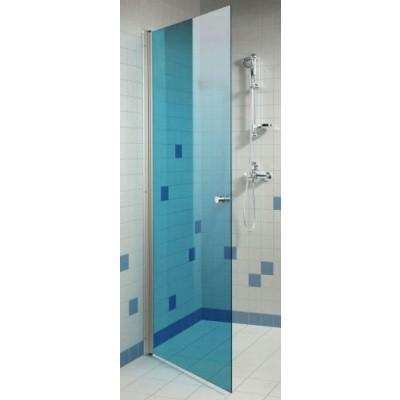 Foto van Hot Orange Douchedeur 90x200 cm, blauw 6 mm
