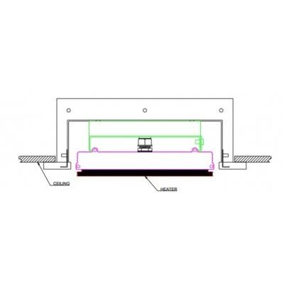 Hoofdafbeelding van Heatstrip Inbouwbehuizing Indoor 1200
