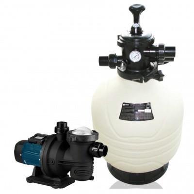 Hauptbild von Royal Blue Sandfilter-Set 10 m3/h (FCP-370S + MFV20)