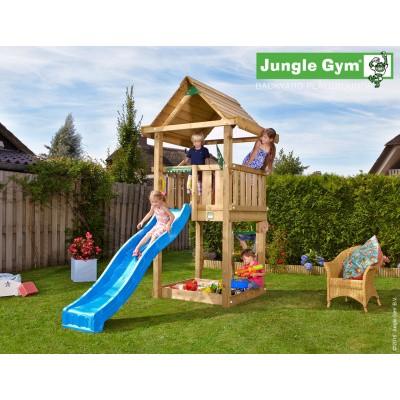 Foto van Jungle Gym House met Glijbaan