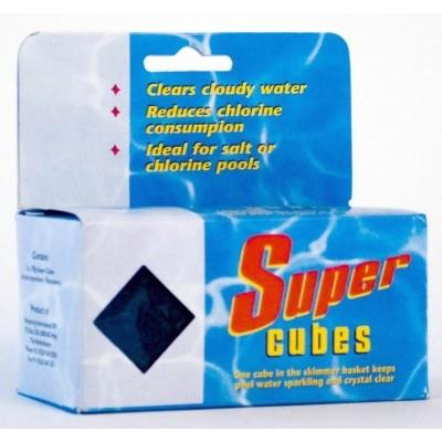 Foto von Melpool SuperCubes Fein-Flockmittel für kristall-klares Wasser - 2 Stück