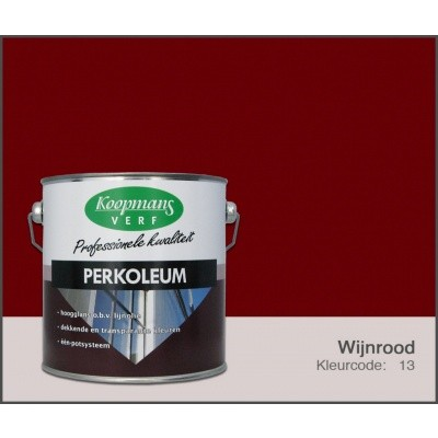 Hauptbild von Koopmans Perkoleum, Weinrot 13, 2,5L Seidenglanz