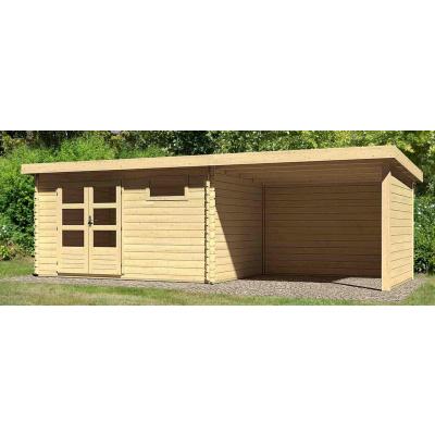 Hoofdafbeelding van Woodfeeling Bastrup 8 met veranda 300 cm (78677)