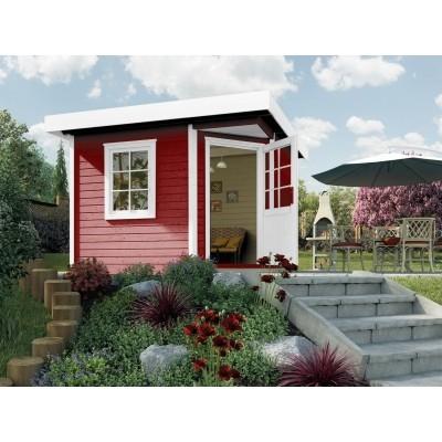 Hauptbild von Weka Designhaus 213 Gr.1, 238x238 cm Schwedenrot
