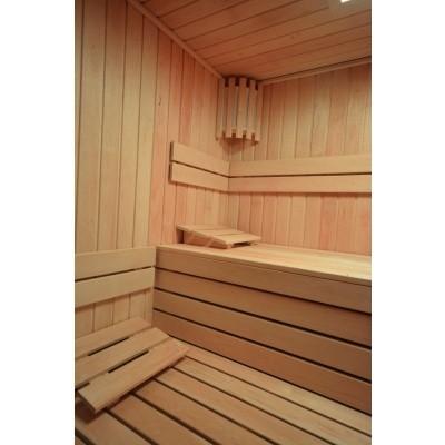 Foto van Azalp Sauna rugleuning Lumen, Elzen