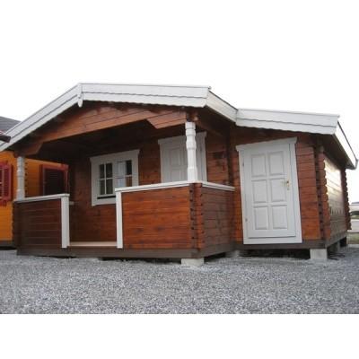 Hauptbild von Azalp Blockhäuser Nida-TA 4x4 m, 60 mm
