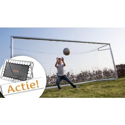 Foto van Avyna Aluminium Goal met net (AVAV-05)